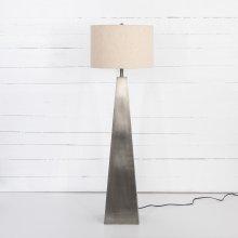 Pewter Finish Leander Floor Lamp