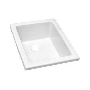 """18"""" Fireclay Utility Sink Product Image"""
