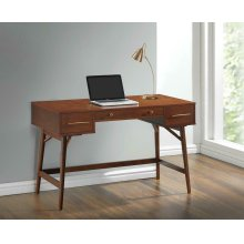 Transitional Walnut Writing Desk