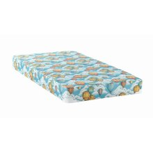 Balloon Blue Patterned Twin Mattress