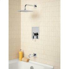 Times Square Bathtub and Shower Trim with Pressure Balance Cartridge  American Standard - Polished Chrome