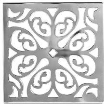 """Biscuit 6"""" Square Shower Drain"""