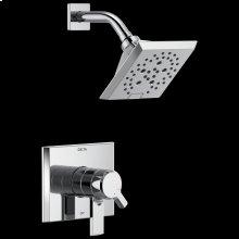 Chrome Monitor ® 17 Series H 2 Okinetic ® Shower Trim