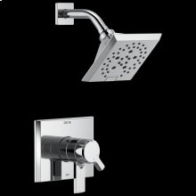Chrome Monitor ® 17 Series H 2 Okinetic ® Shower Trim
