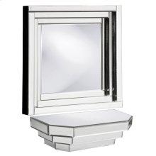Mirrored Wall Shelf