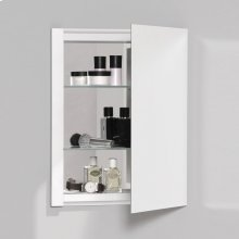 "R3 Series 16"" X 20"" X 4"" Single Door Cabinet With Polished Edge"