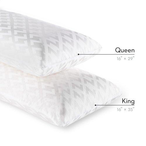 Zoned Dough® + Bamboo Charcoal Queen High Loft
