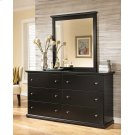 Maribel - Black 2 Piece Bedroom Set Product Image