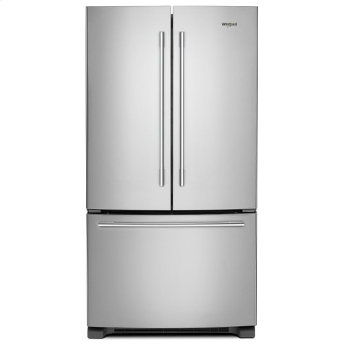 36-inch Wide French Door Refrigerator with Crisper Drawer - 25 cu. ft. Fingerprint Resistant Stainless Steel
