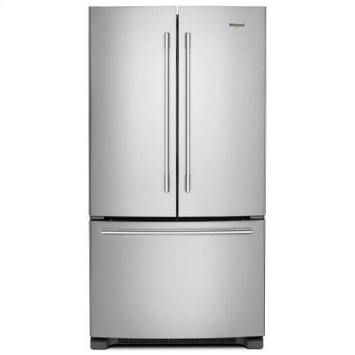 36-inch Wide French Door Refrigerator with Crisper Drawer - 25 cu. ft. Fingerprint Resistant Stainless Steel