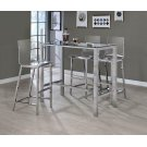 Contemporary Clear Acrylic Bar Stool Product Image