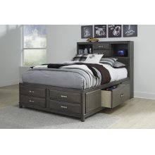 Caitbrook - Gray 3 Piece Bed Set (Full)