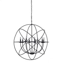 Derince Iron Chandelier Large wBulb