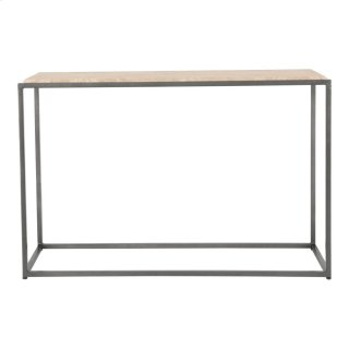 Winslow Marble Console Table Cappuccino