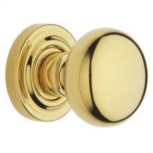 Lifetime Polished Brass 5030 Estate Knob