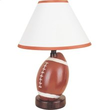CERAMIC TABLE LAMP FOOTBALL