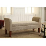 Classic Tan Storage Bench Product Image
