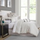 9pc Queen Comforter Set Platinum Product Image