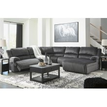 Clonmel - Charcoal 5 Piece Sectional