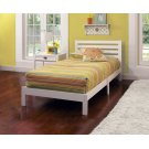 Aiden Twin Bed In One - White Product Image