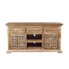 "Charleston Old White 60"" TV Stand"