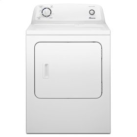 SCRATCH AND DENT  6.5 cu. ft. Electric Dryer with Wrinkle Prevent Option White