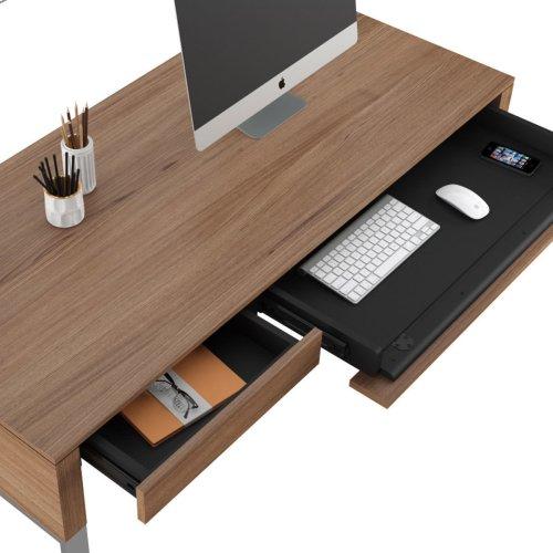 6201 Desk in Natural Walnut