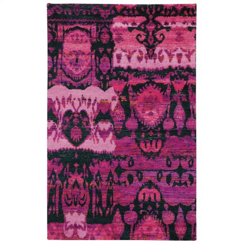 Carousel-Juggler Cotton Candy Hand Knotted Rugs