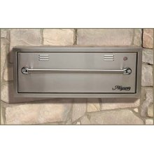"""30"""" Outdoor Warming Drawer Stainless Steel"""
