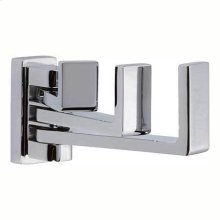 Polished Chrome Triple Pivoting Robe Hook