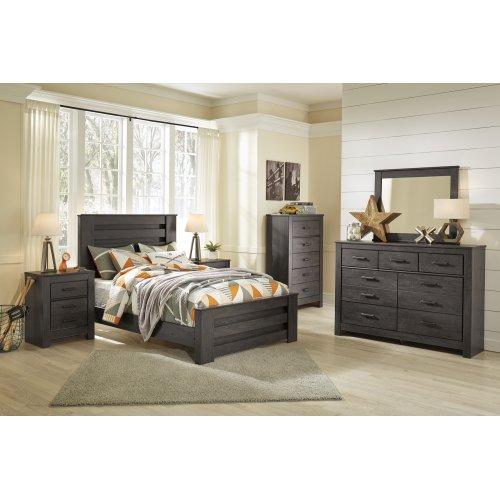Brinxton - Charcoal 3 Piece Bed Set (Full)