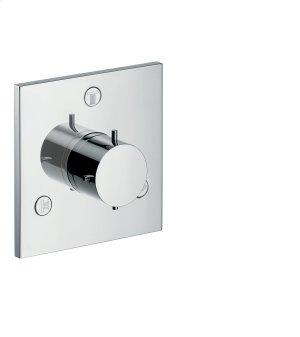 Chrome Shut-off/ diverter valve Trio/ Quattro for concealed installation Product Image