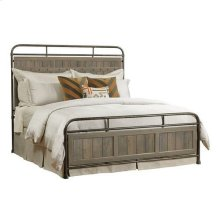 Mill House Folsom King Metal Bed - Complete