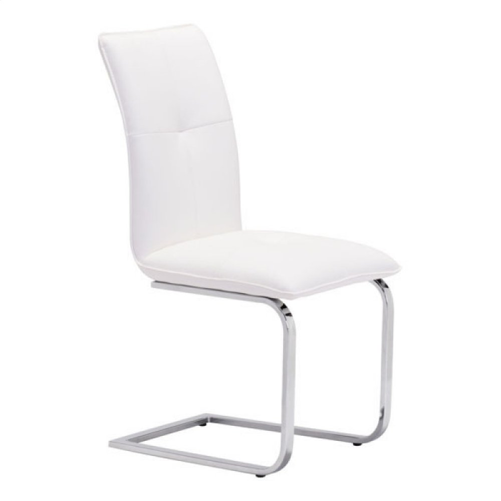 Anjou Dining Chair White
