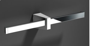 Resin-chrome Double Toilet Roll Holder Product Image