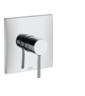 Brushed Red Gold Single lever shower mixer for concealed installation Product Image