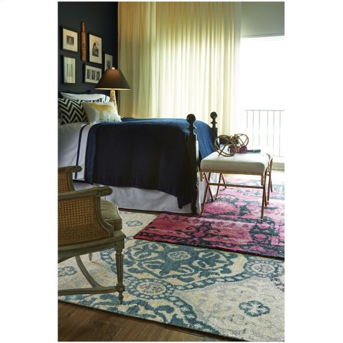 Carousel-Ring Leader Water Hand Knotted Rugs