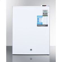 Countertop Vaccine Storage All-freezer With Digital Thermostat, Temperature Alarm, Hospital Grade Cord, Self-closing Door, and Front Lock