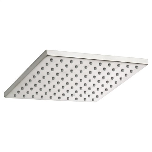 8 Inch Square Rain Showerhead - Brushed Nickel