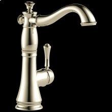 Polished Nickel Single Handle Bar / Prep Faucet