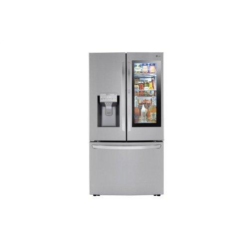 24 cu. ft. Smart wi-fi Enabled InstaView Door-in-Door® Counter-Depth Refrigerator with Craft Ice Maker