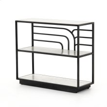 Natural Black Finish Marcel Console Table