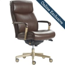 Melrose Executive Office Chair, Brown