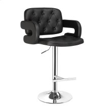 Midland Black Bar Stool