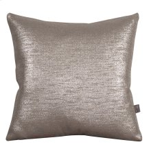 """20"""" x 20"""" Pillow Glam Pewter"""