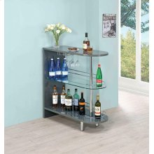 Glossy Grey Bar Unit