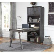 Raventown - Grayish Brown 2 Piece Home Office Set