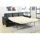 Samuel Transitional Black Sleeper Sofa Product Image