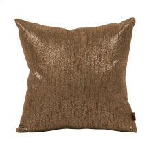 "16"" x 16"" Pillow Glam Chocolate"