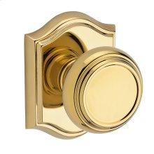 Polished Brass Traditional Reserve Knob